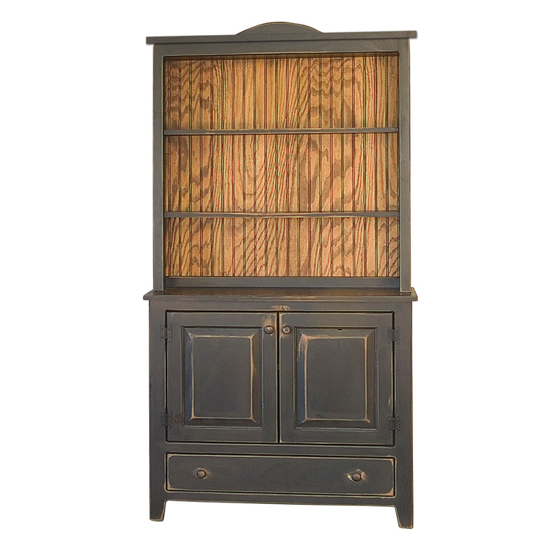 Biscuit Safe With Hutch Amish Primitive Pine Amish