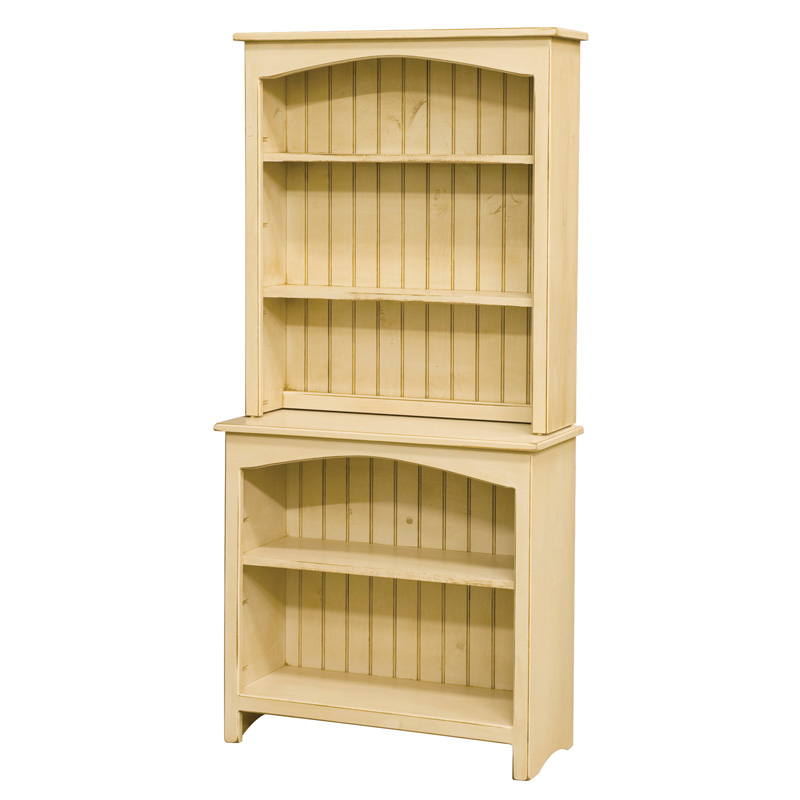 Amish Bookcase with Hutch | Amish Furniture | Shipshewana Furniture Co.