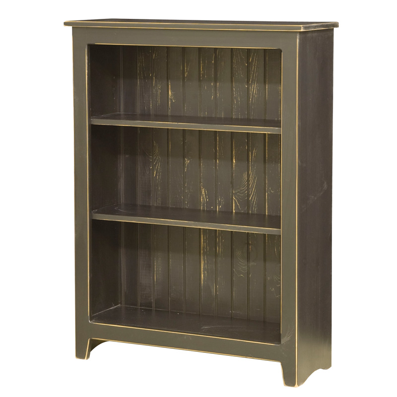 "Amish Bookcase 48""H 