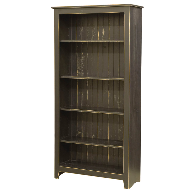"Amish Bookcase 72""H 
