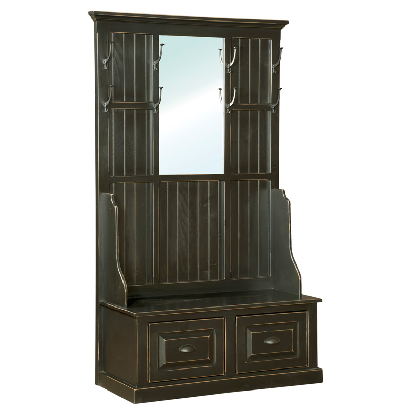 Amish Hall Tree | Amish Furniture | Shipshewana Furniture Co.