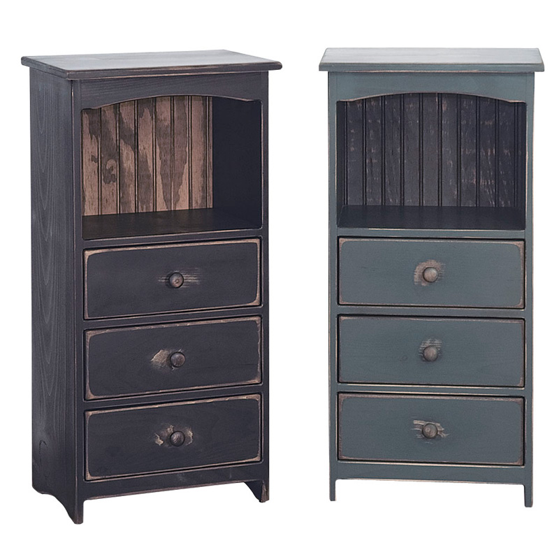 Amish 3 Drawer Chest | Amish Furniture | Shipshewana Furniture Co.