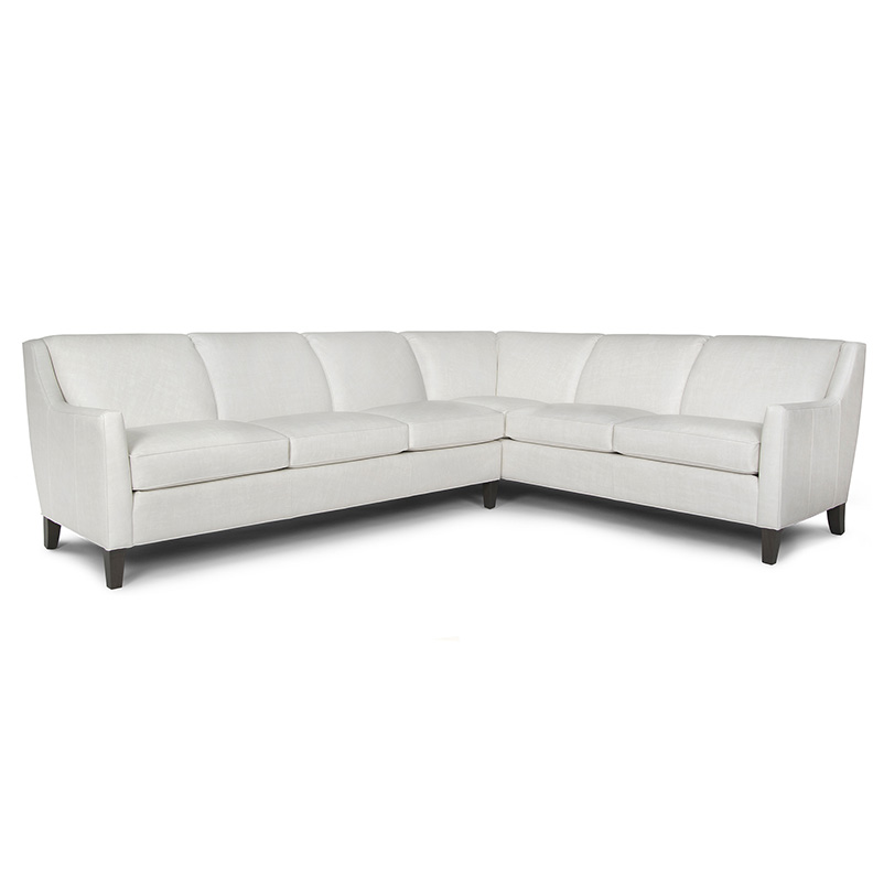 248 Sectional - Leather