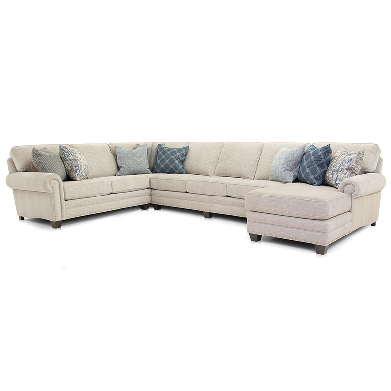 253 Sectional - Fabric