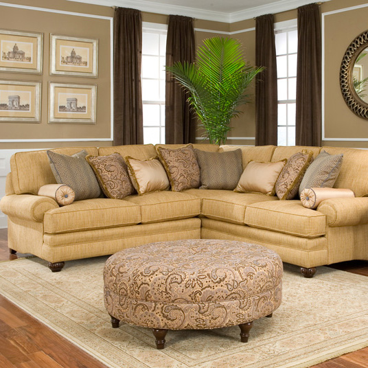 Amish 376 Sectional - Fabric | Amish Furniture | Shipshewana Furniture Co.