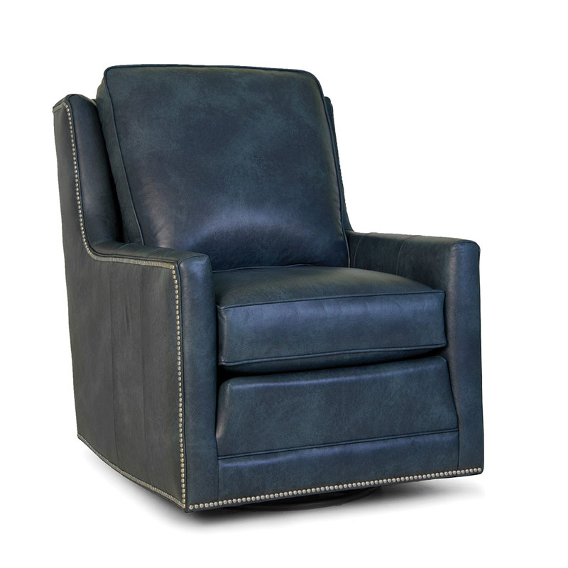 500 Swivel Chair - Leather