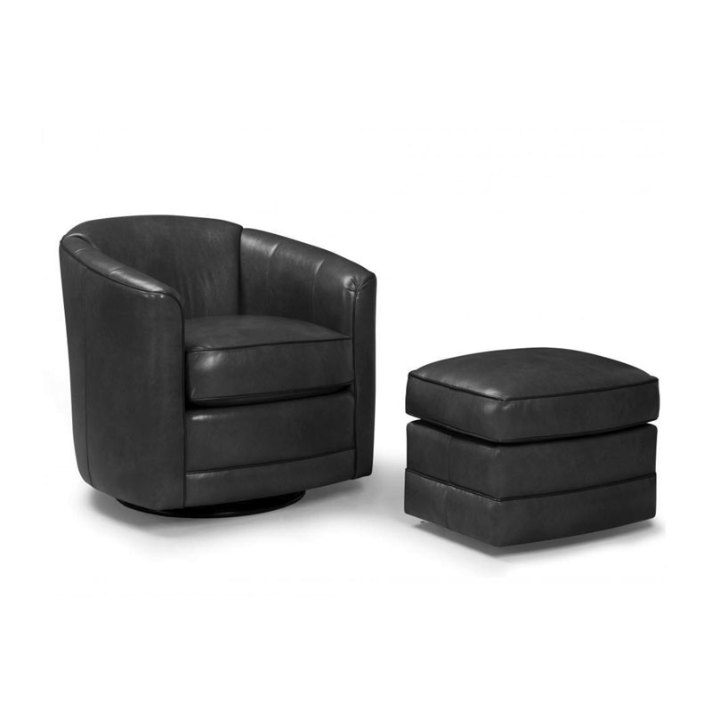 506 Swivel Chair - Leather