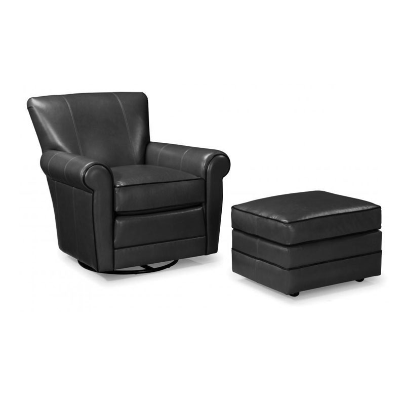 514 Swivel Chair - Leather