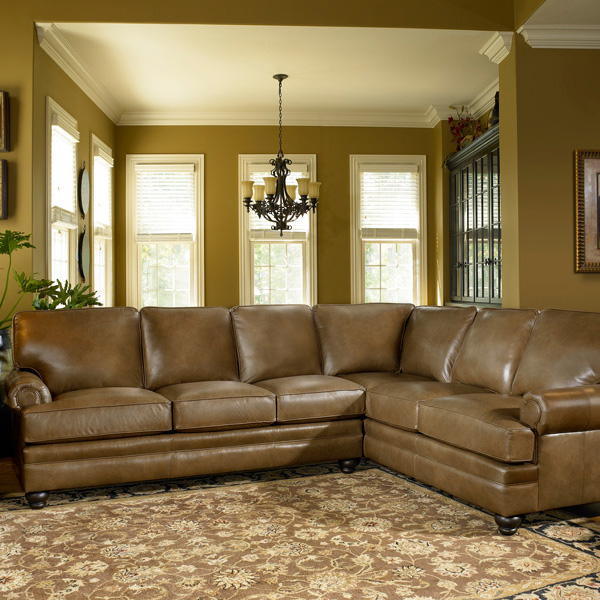 5221 Sectional - Leather