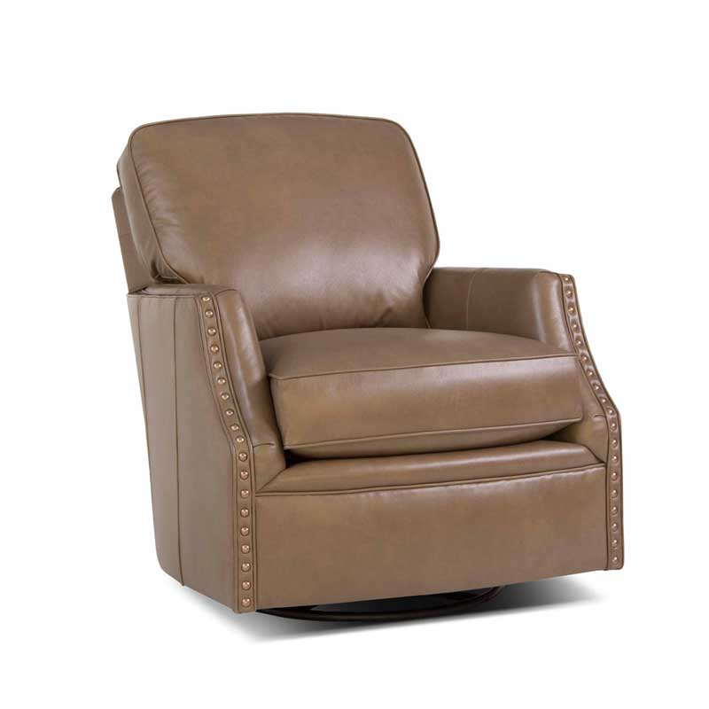 526 Swivel Chair - Leather