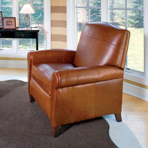 713 Pressback Recliner   Leather