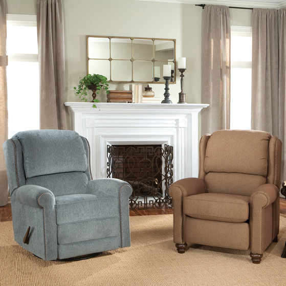 718 & 720 Recliners - Fabric