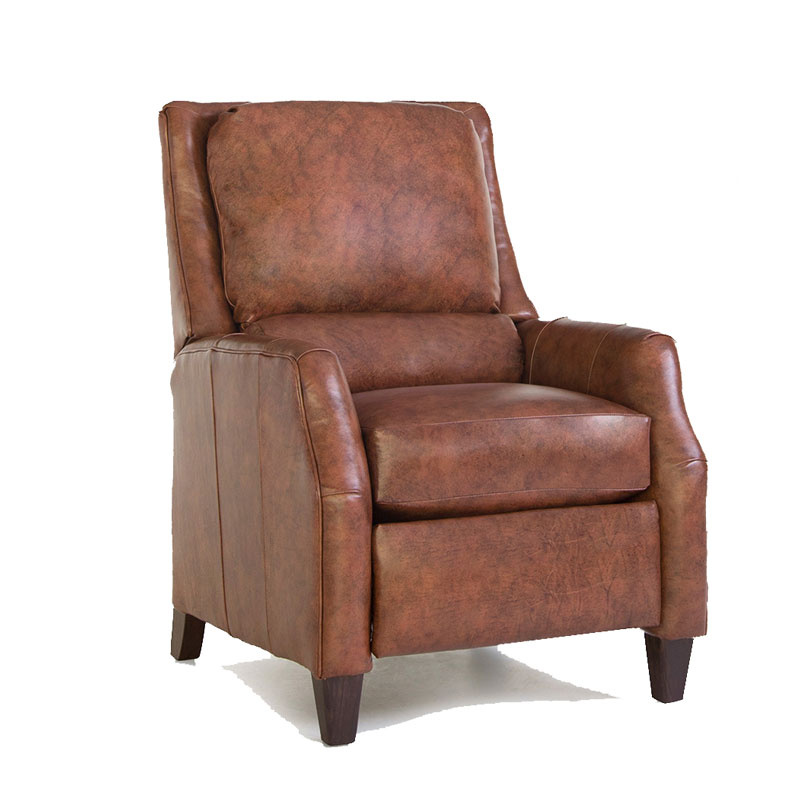 722 Pressback Recliner - Leather