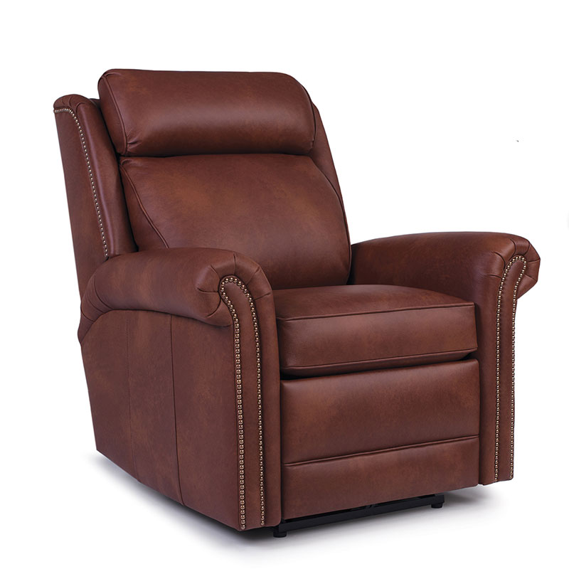 737 Motorized Swivel Glider Recliner - Leather