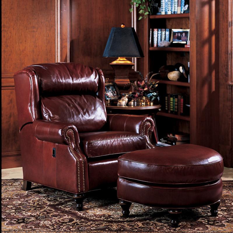Amish 932 Tiltback Chair - Leather | Amish Furniture | Shipshewana Furniture Co.