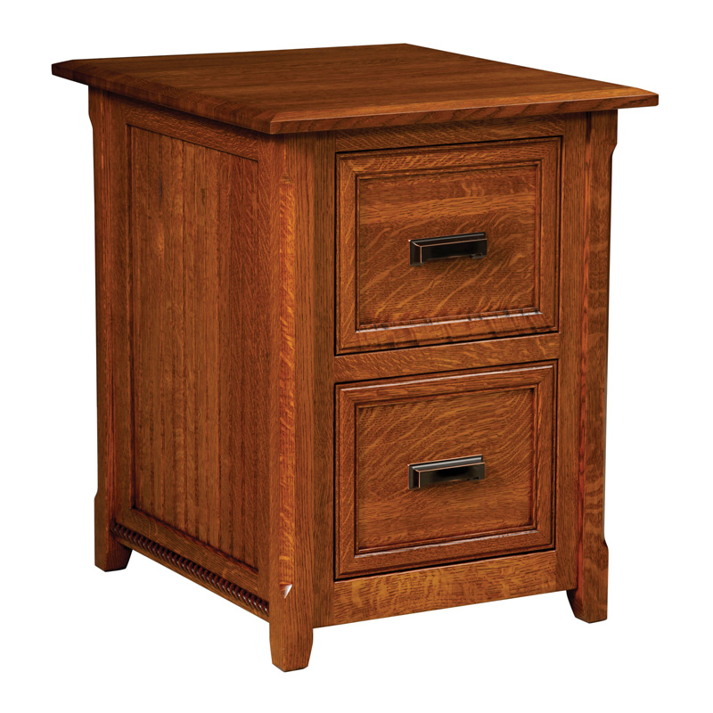 Amish Ashton File Cabinet | Amish Furniture | Shipshewana Furniture Co.