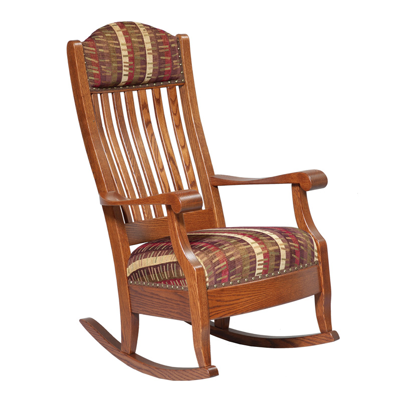 Amish Aunties Rocker | Amish Furniture | Shipshewana Furniture Co.