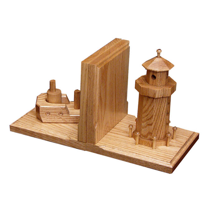 Boat/Lighthouse Bookends