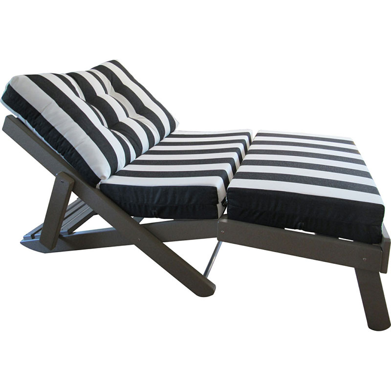 Caribbean Reclining Folding Daybed