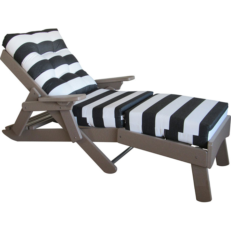 Caribbean Folding Chaise Lounge