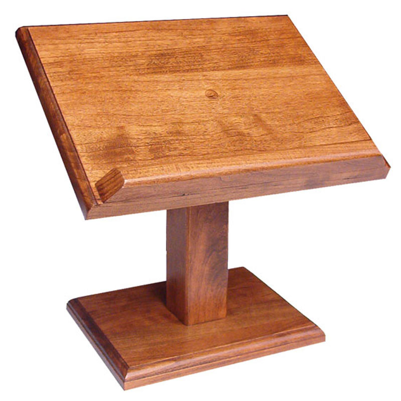Cookbook/Bible Stand - Small Cherry