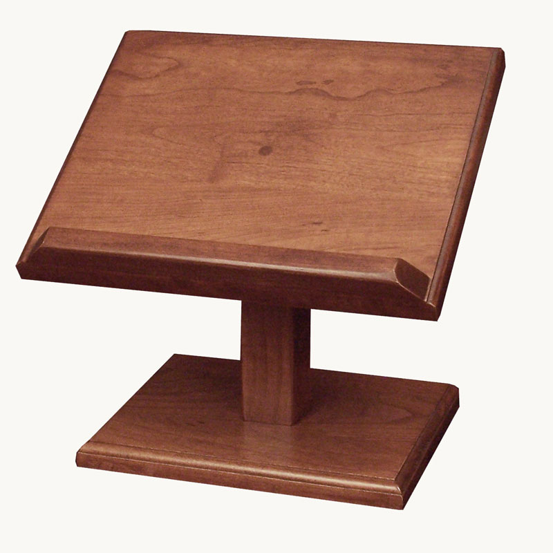 Cookbook/Bible Stand - Large Cherry