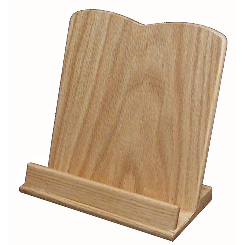 Cookbook Holder - Oak