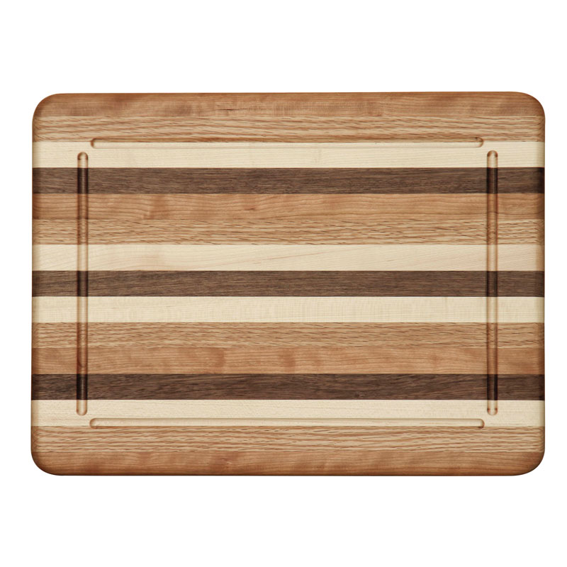Cutting Board with Grooves