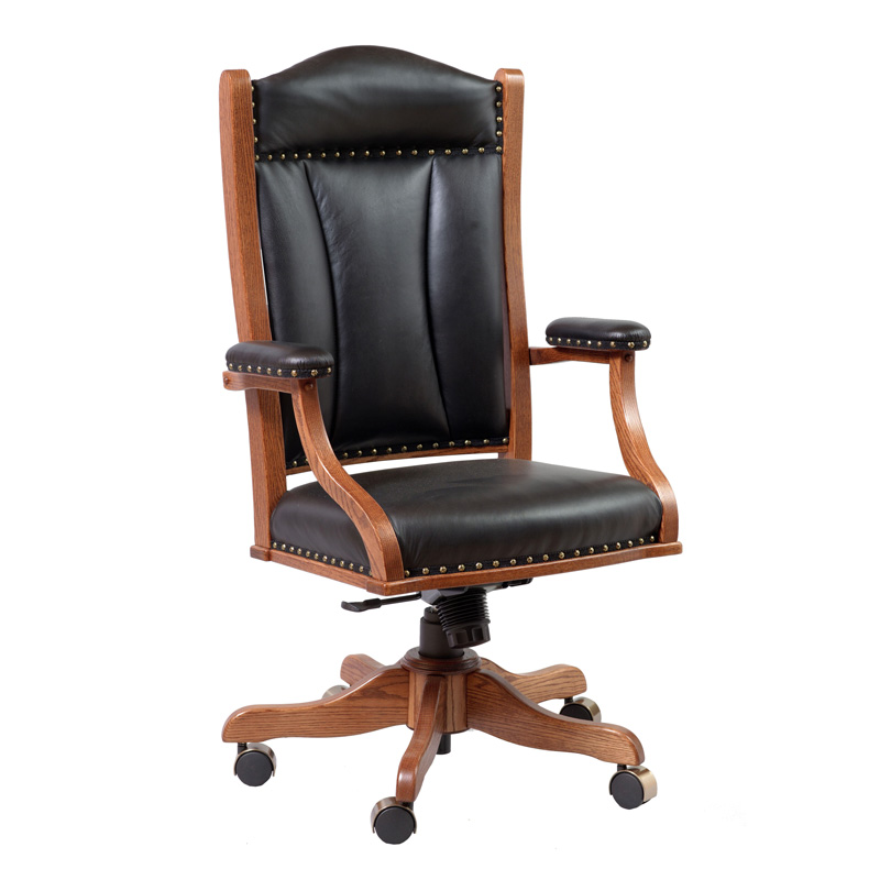 Amish Desk Arm Chair | Amish Furniture | Shipshewana Furniture Co.