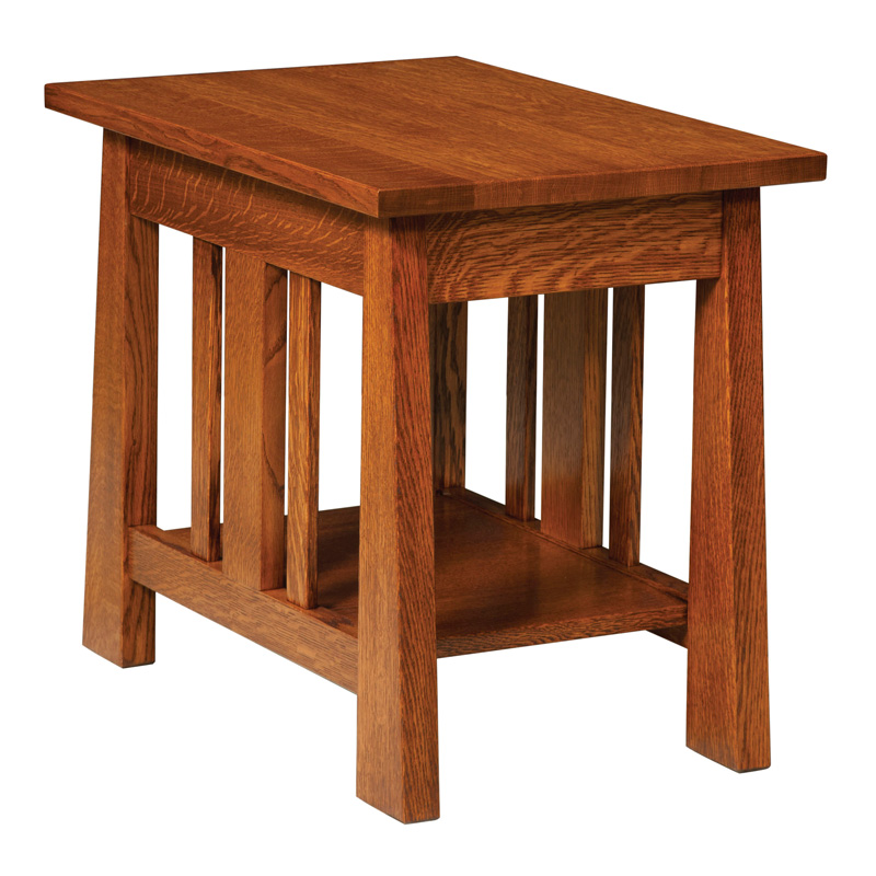Freemont Mission Open End Table (No Drawer)