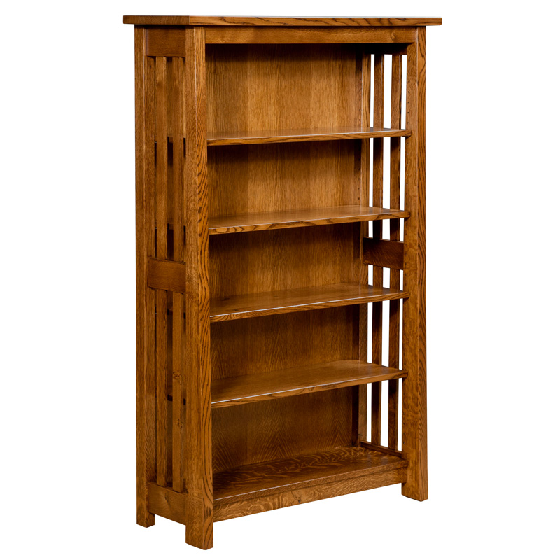 Freemont Mission Open Side Bookcase