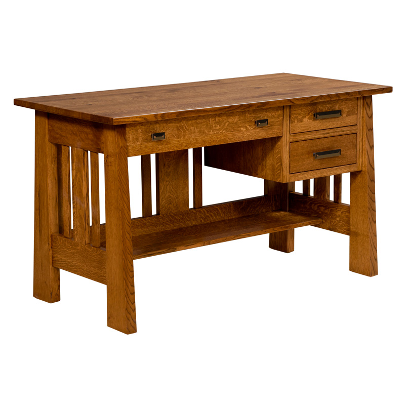 Amish Freemont Mission Open Desk 54"