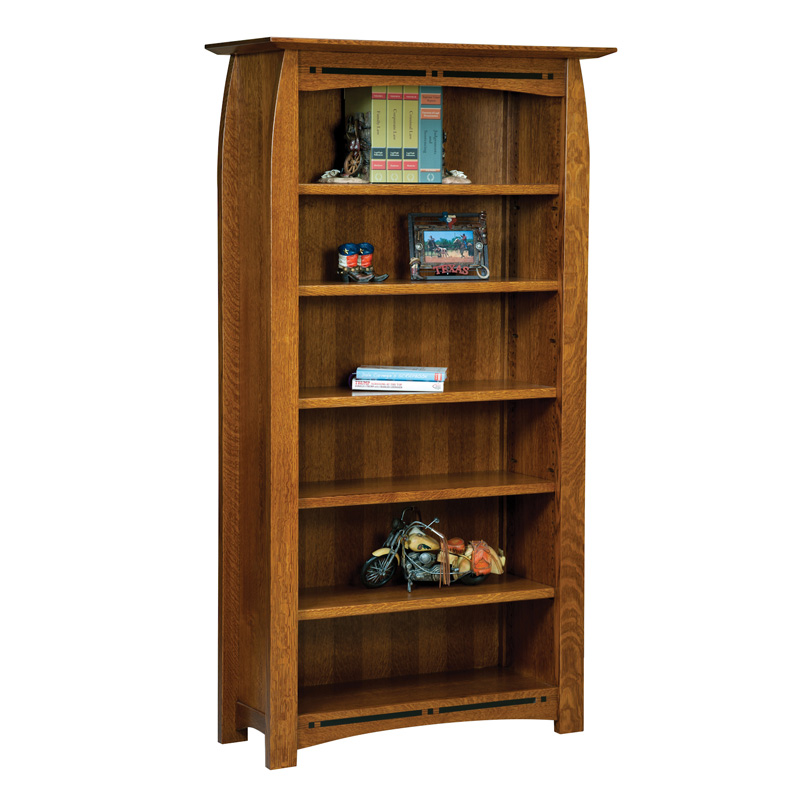 Boulder Creek Bookcase 6ft