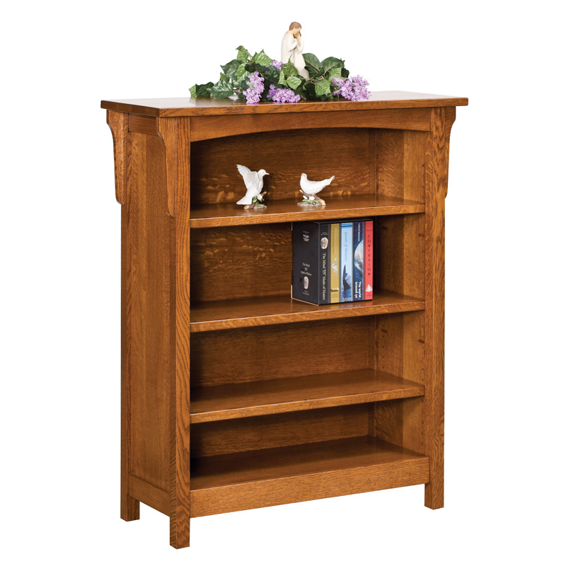 Bridger Mission 4ft Bookcase