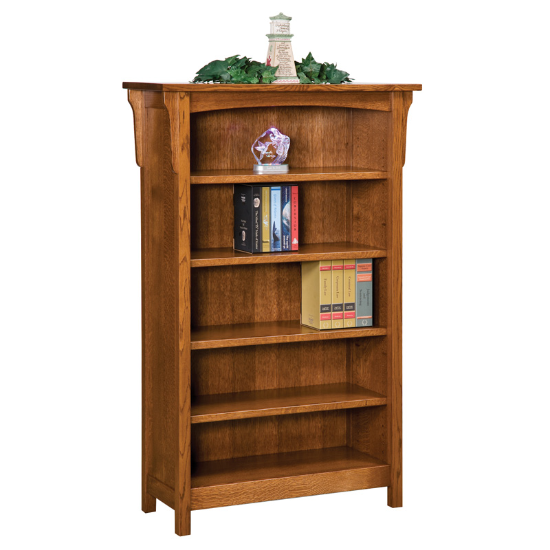 Bridger Mission 5ft Bookcase