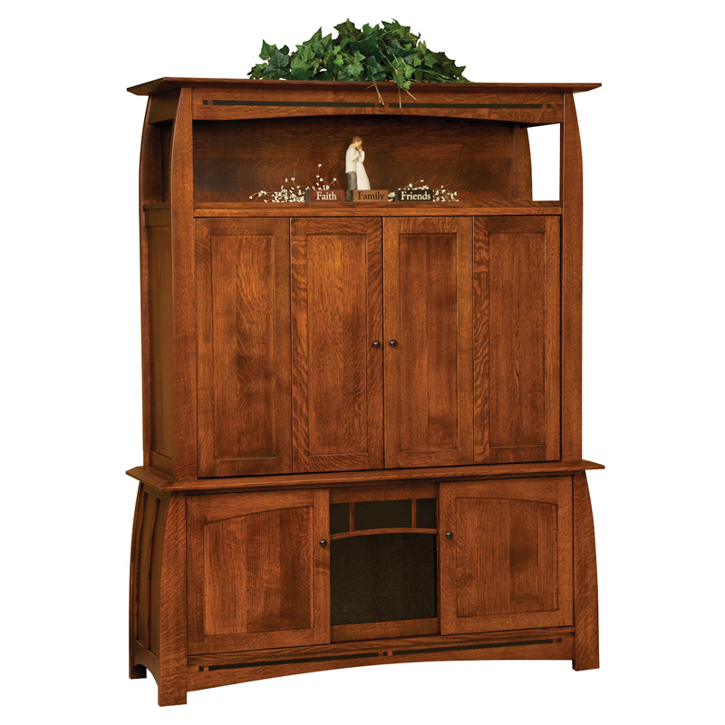 Boulder Creek Enclosed TV Cabinet