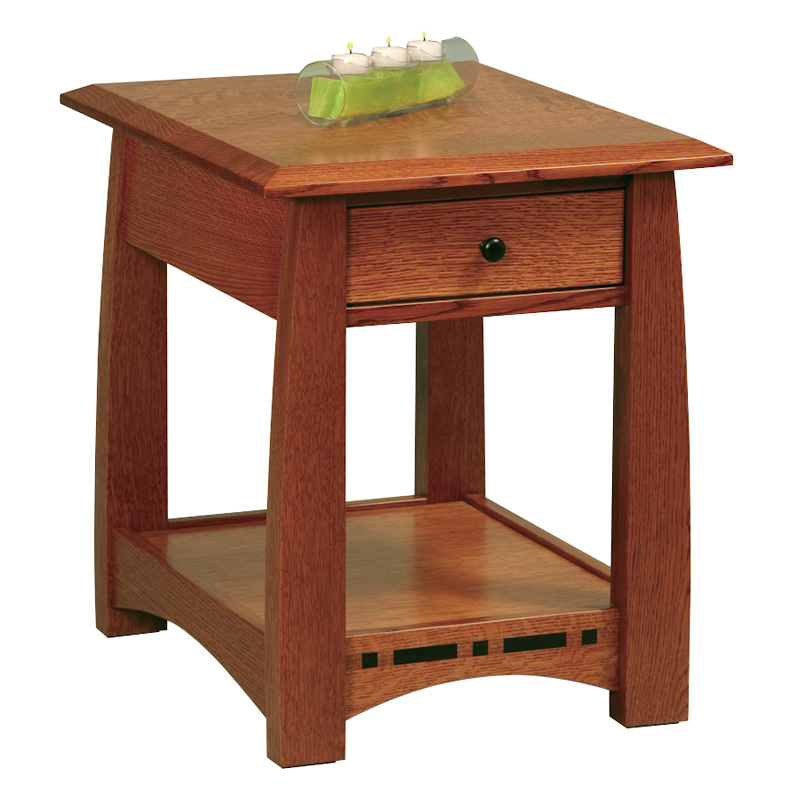 Boulder Creek Open End Table