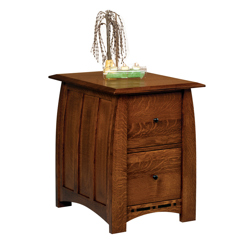Amish Boulder Creek File Cabinet | Amish Furniture | Shipshewana Furniture Co.