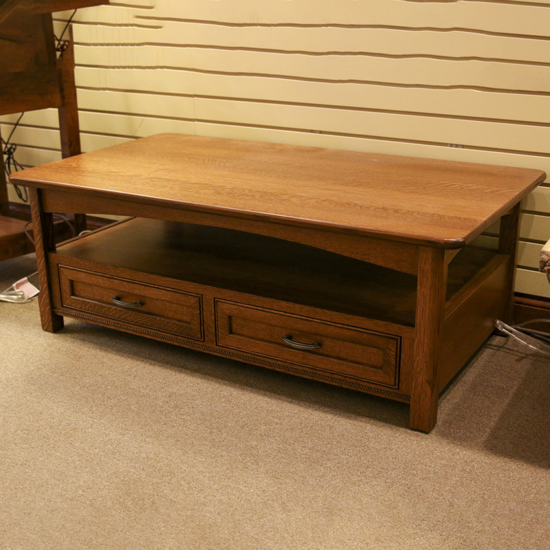 CLEARANCE - Winchester Open Coffee Table
