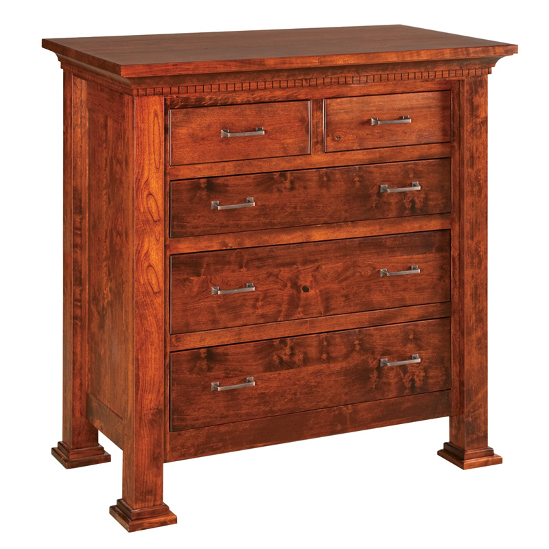 Amish Empire 5 Drawer Childs Chest | Amish Furniture | Shipshewana Furniture Co.