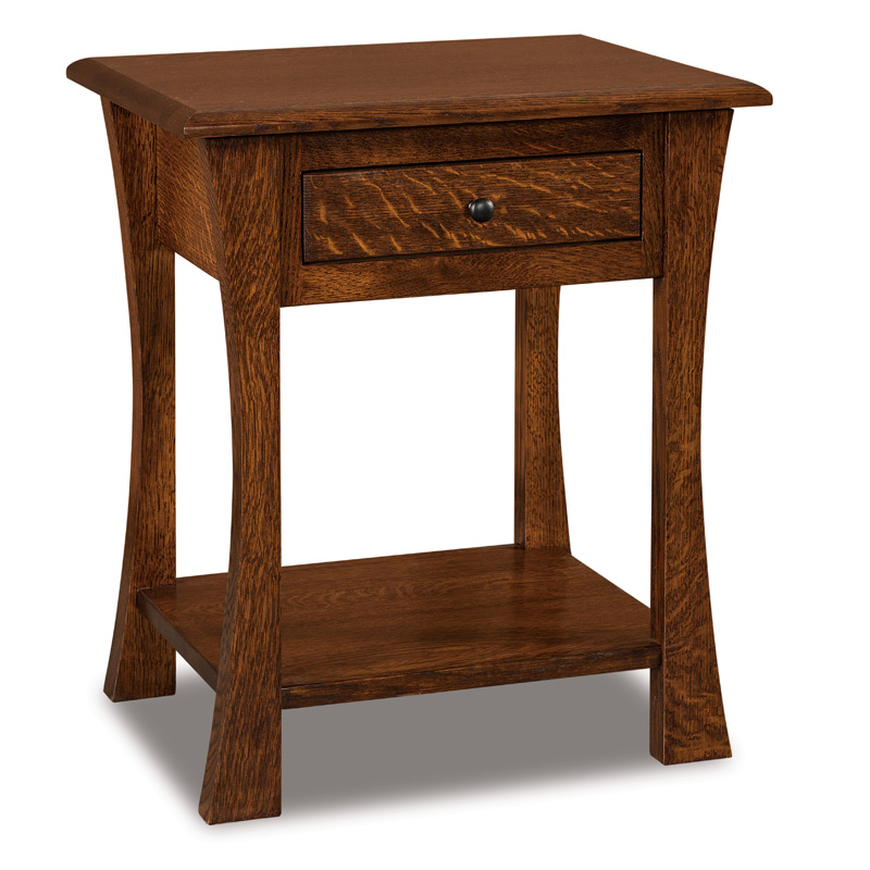 Matison 1 Drawer Open Nightstand