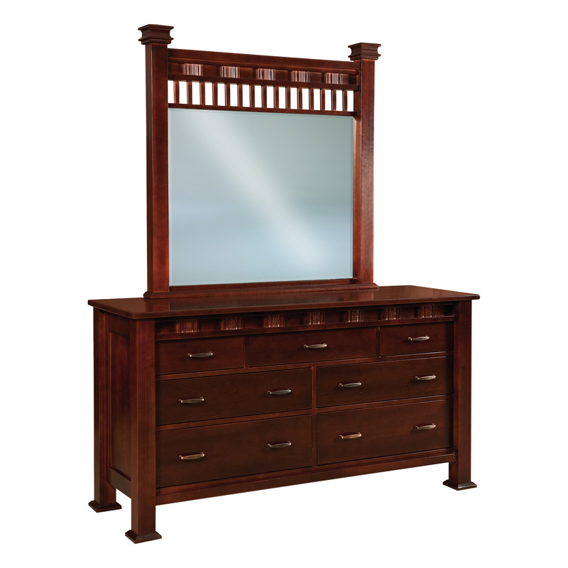 Sequoyah 7 Drawer Dresser 67-3/4""