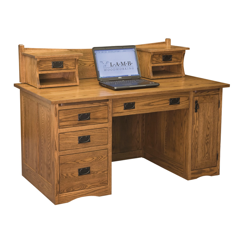 Amish Mission Computer Desk 60"