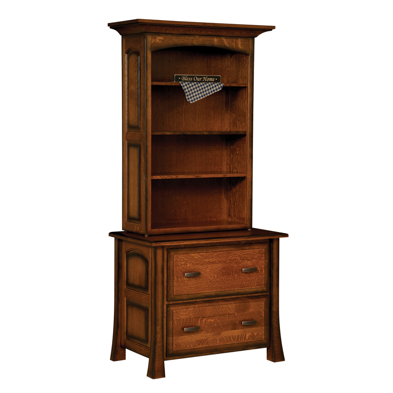 Amish Olde Century Lateral File Cabinet | Amish Furniture | Shipshewana Furniture Co.