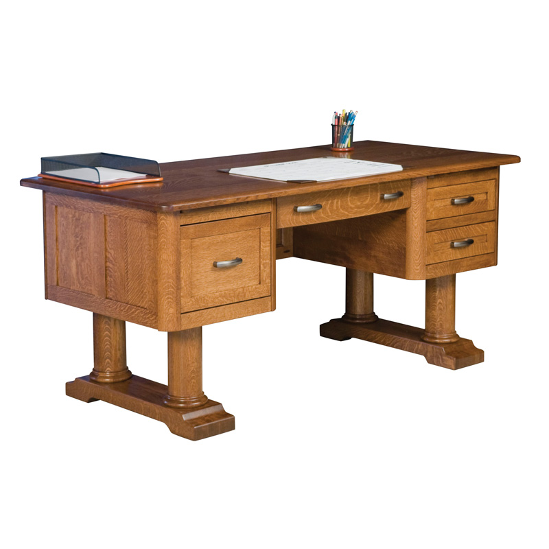 Amish Madison Desk | Amish Furniture | Shipshewana Furniture Co.