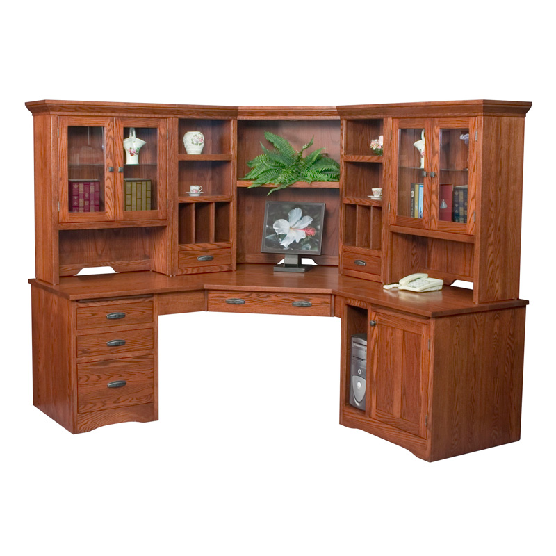 Amish Mission Corner Computer Center | Amish Furniture | Shipshewana Furniture Co.