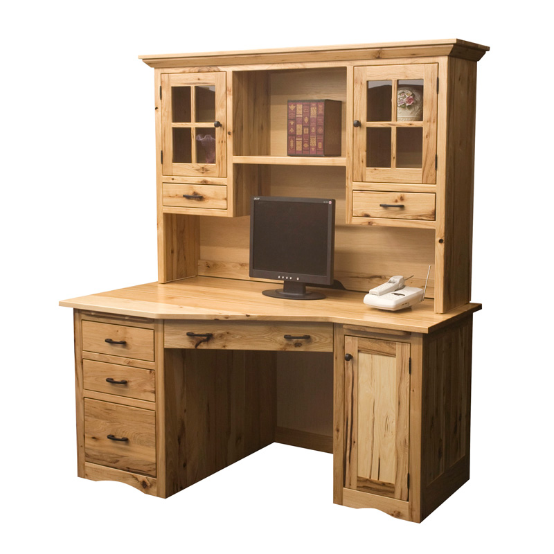 Amish Mission Wedge Desk | Amish Furniture | Shipshewana Furniture Co.