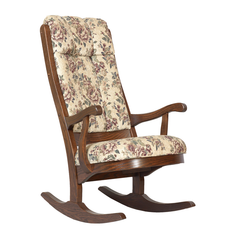 Amish Lincoln Rocker | Amish Furniture | Shipshewana Furniture Co.