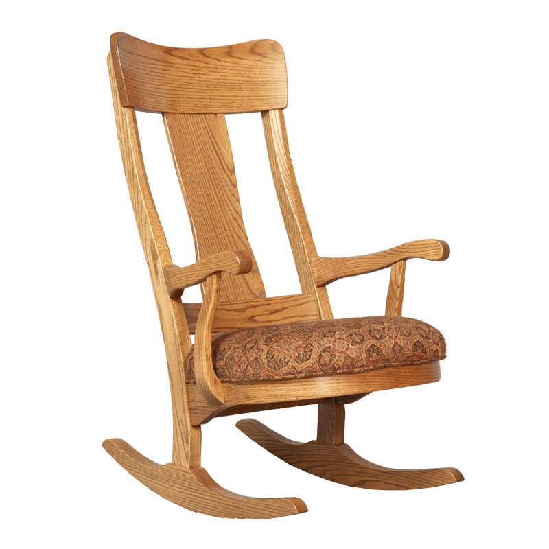 Amish Lewis Rocker | Amish Furniture | Shipshewana Furniture Co.