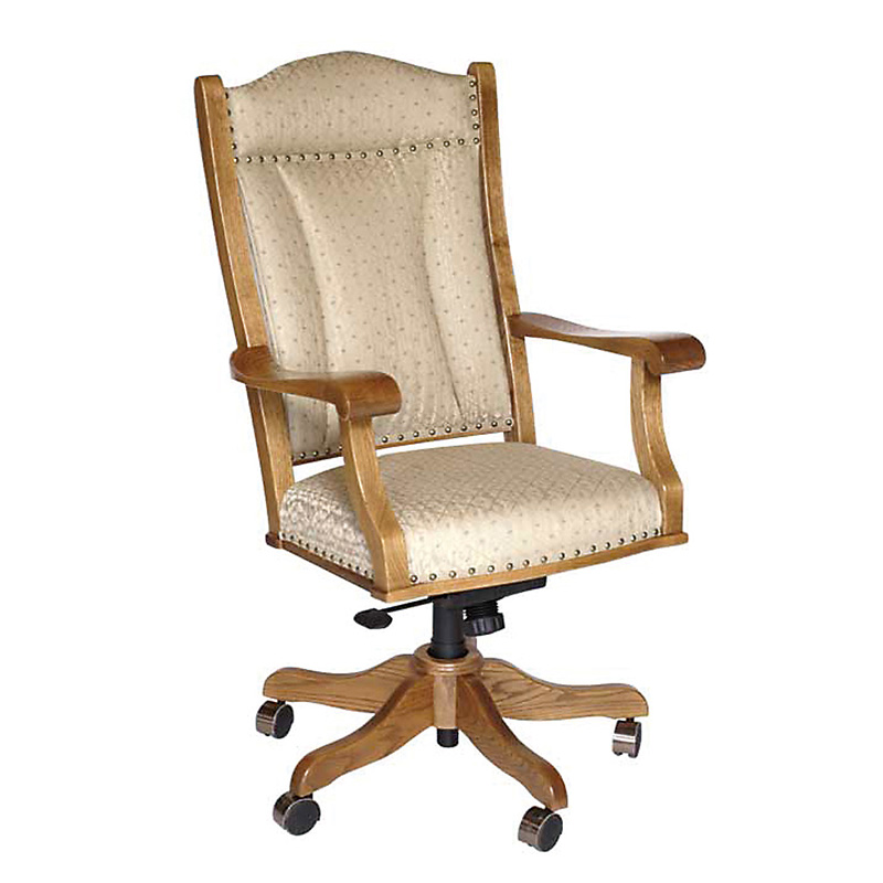 Amish Desk Chair | Amish Furniture | Shipshewana Furniture Co.